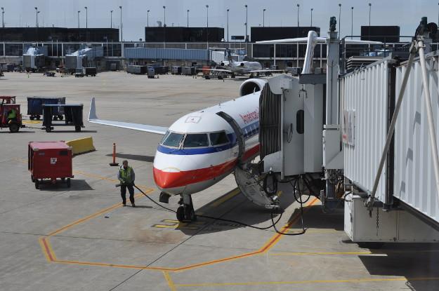 Let z Chicaga do Salt Lake City. Jako v soukromém letadle :-).
